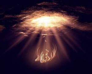 Aparentemente Satanás aún se mueve libremente entre el cielo y la tierra, hablando directamente con Dios y respondiendo por sus actividades.